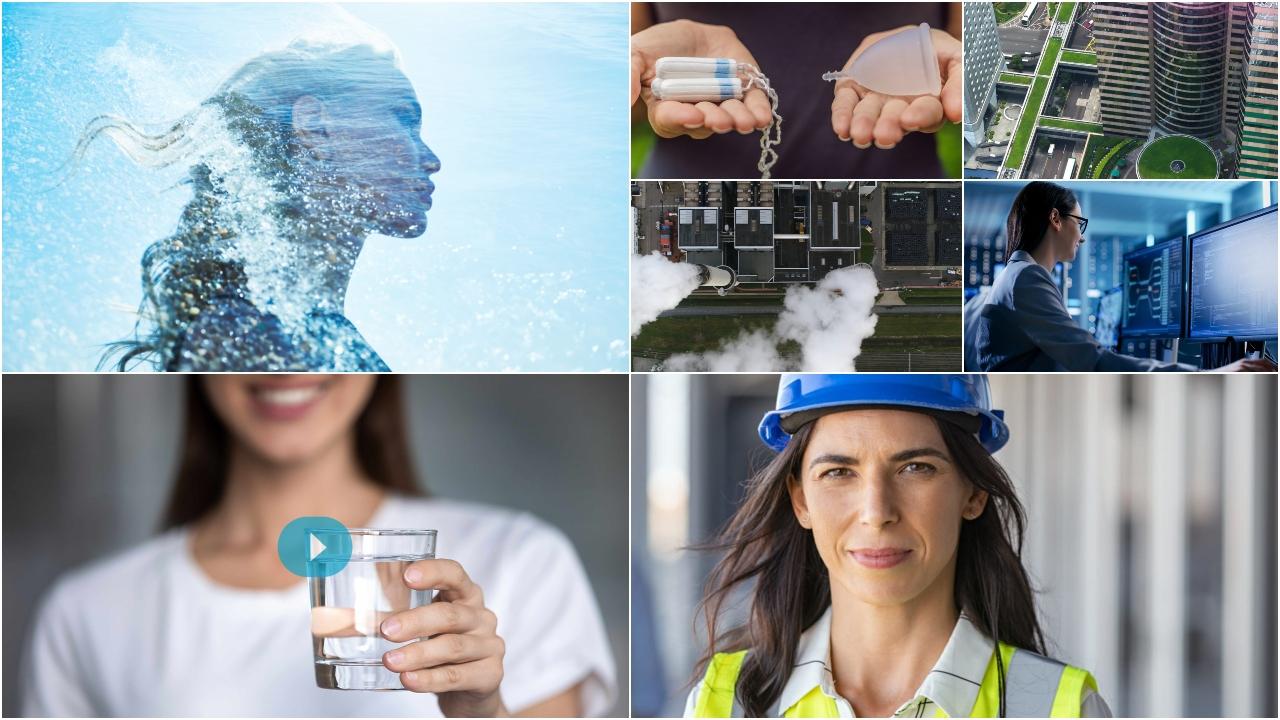 Más mujeres en el sector del agua y más agua para las mujeres