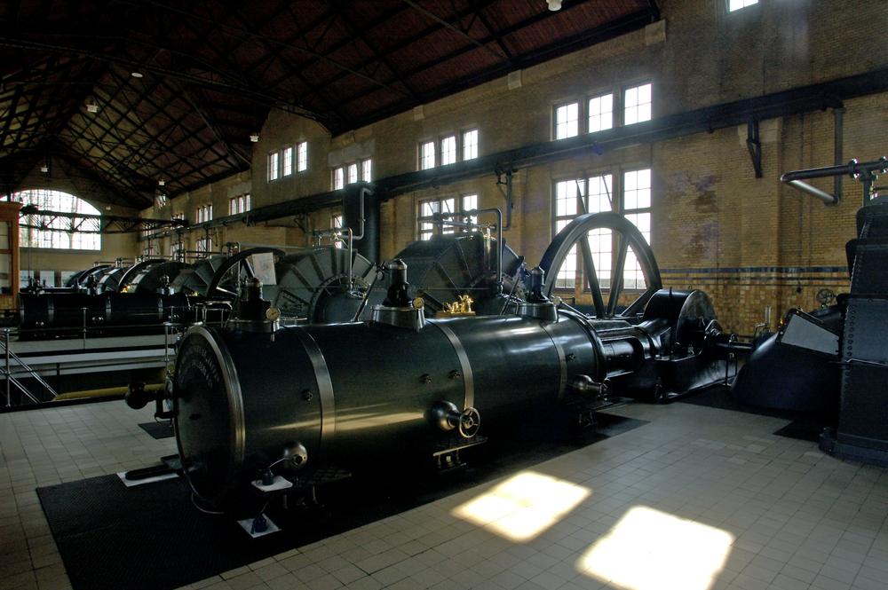 El Ir. D. F. Woudagemaal es la estación de bombeo de vapor más grande jamás construida en el mundo. | FOTO: Anjo Kan