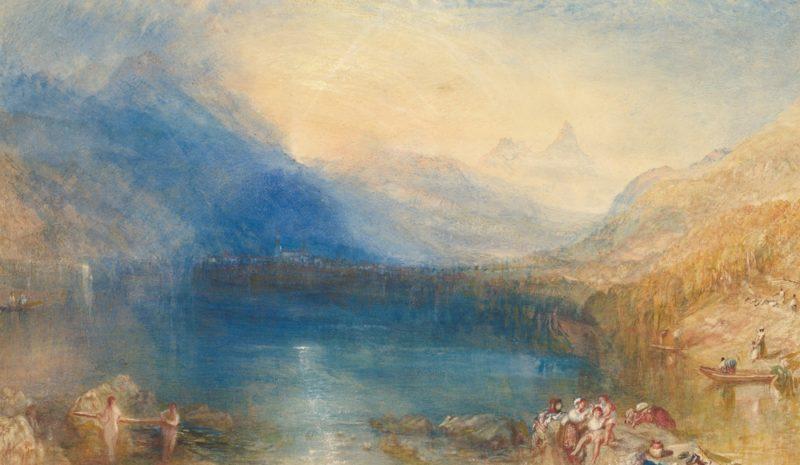 La intensidad del color en el agua de Turner
