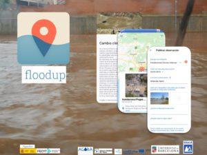 FLOODUP está disponible en castellano, inglés, francés, catalán y euskera