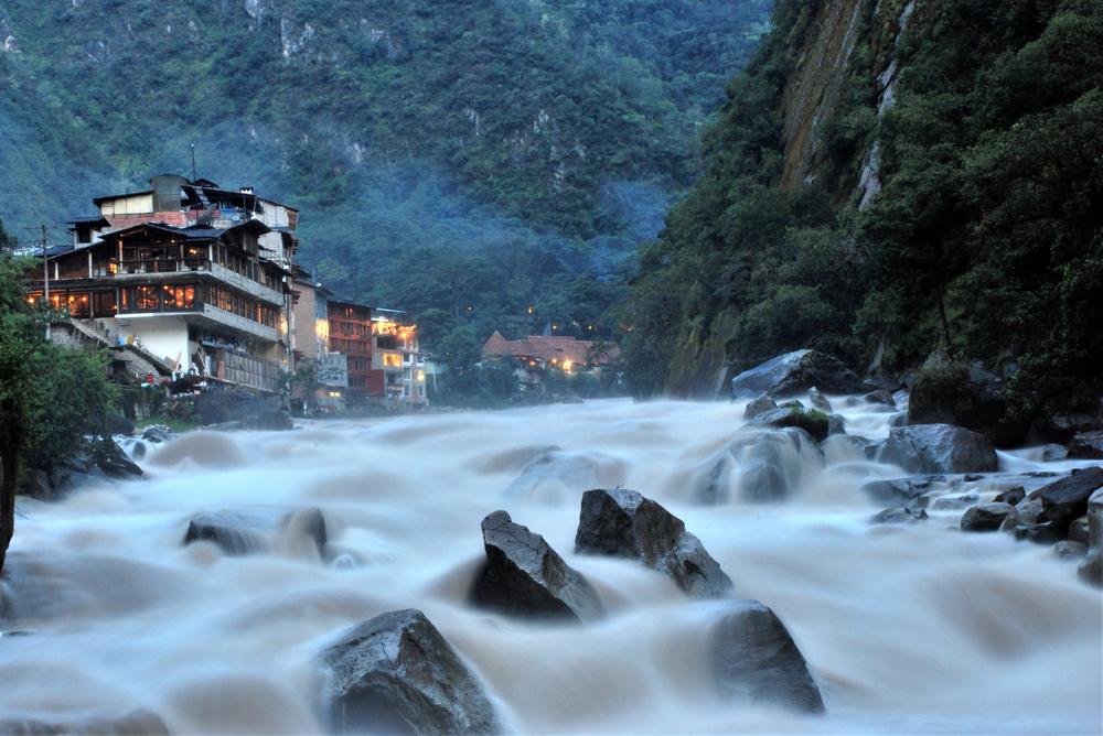 La localidad de Aguas Calientes en la región peruana de Machu Picchu FOTO Alessandro Pinto