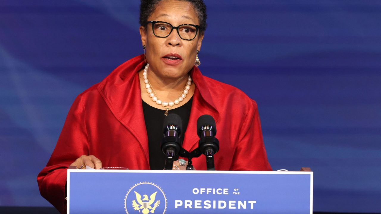 Marcia Fudge responsable de Vivienda en el gobierno de Joe Biden.   FOTO: Usa Today
