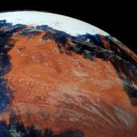 Gran parte del agua antigua de Marte quedó atrapada en su corteza