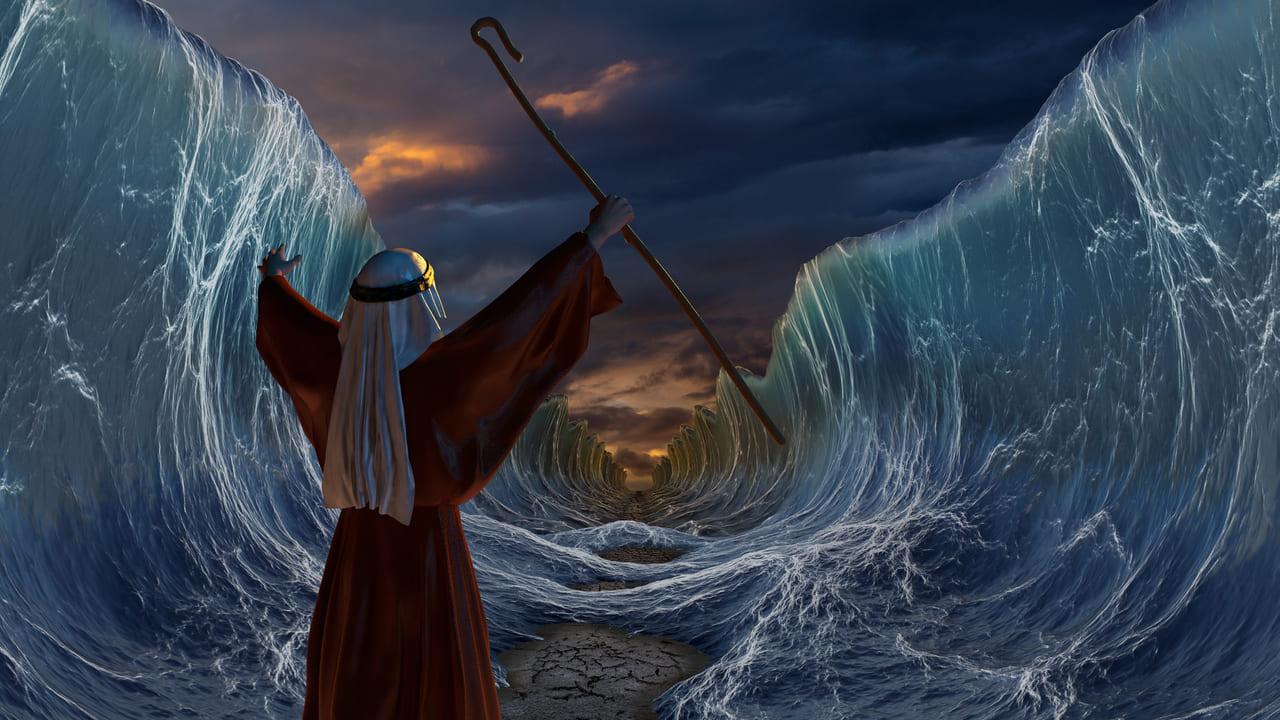 Sabías que las aguas del mar Rojo se pudieron separar de verdad?