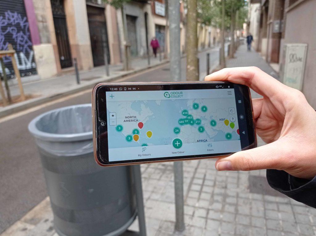La app OdourCollect permite crear mapas de olores colaborativos