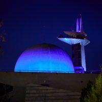 Granada se viste de azul por el Día Mundial del Agua
