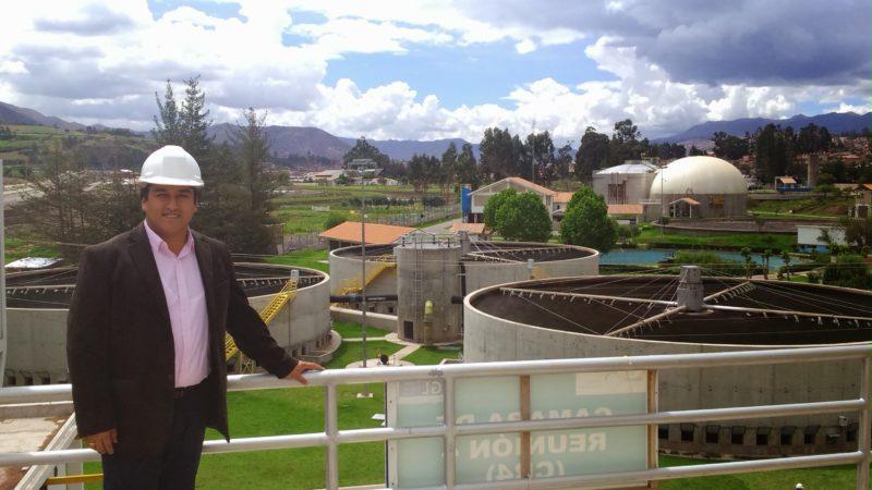 """Vladimir Laura: """"El verdadero oro de Perú es el agua"""""""