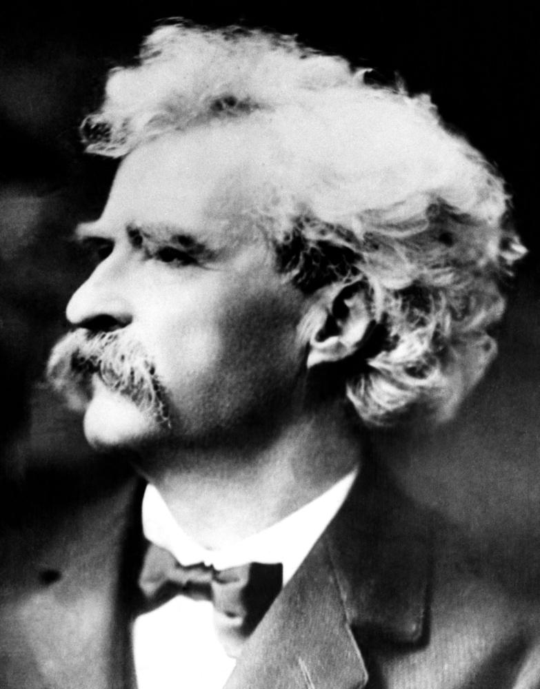 El escritor estadounidense Mark Twain El escritor estadounidense Mark Twain en una foto tomada hacia 1900 por Samuel Clemens. | FOTO: Everett Collection