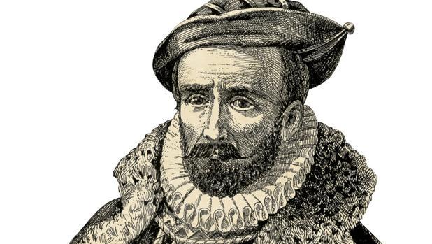 El navegante español Álvaro de Mendaña.