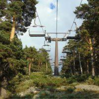 El cambio climático acaba con el esquí en Navacerrada