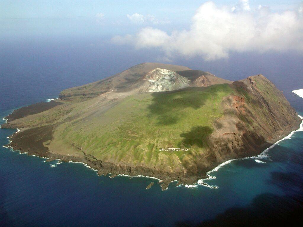Isla de Torishima, en el Pacífico japonés. | FOTO: Japan Coast Guard