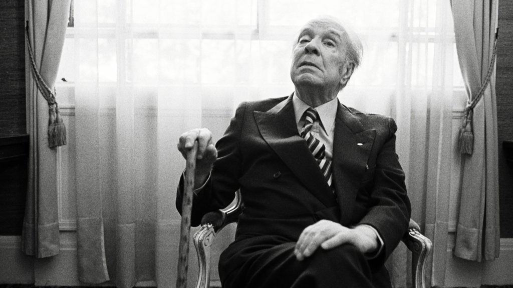 El escritor argentino Jorge Luis Borges, en París, en 1979.