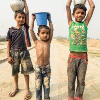 Uno de cada cinco niños no tiene agua suficiente para su día a día