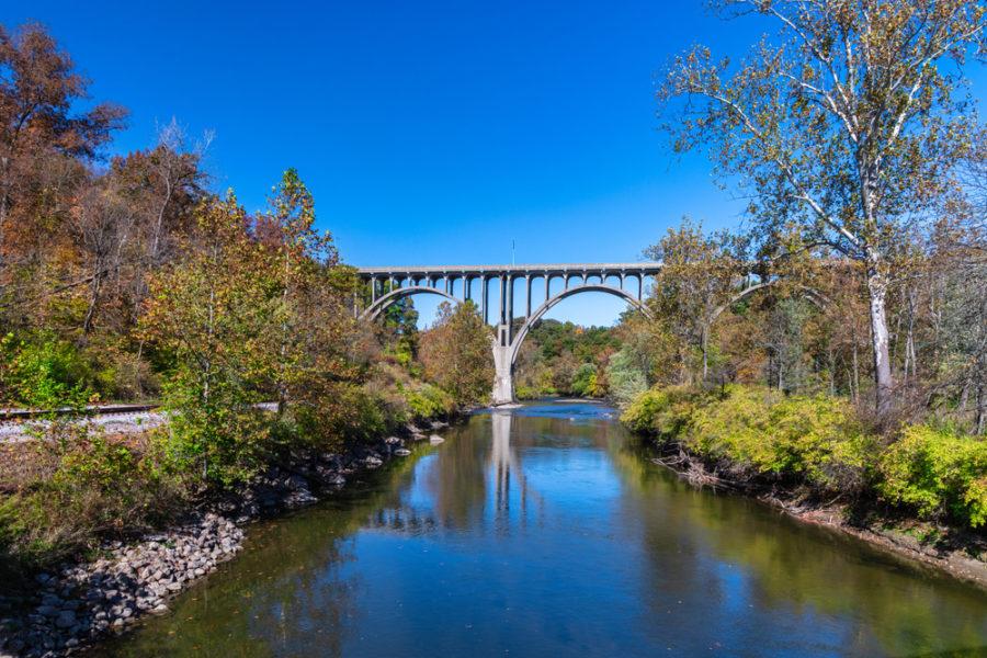 Río Cuhayoga, en Ohio, Estados Unidos | FOTO: Ami Parikh