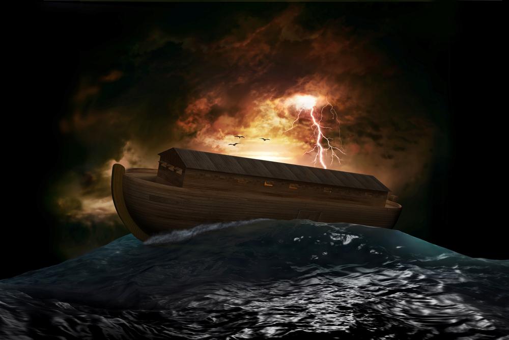 representación del Arca de Noé bajo el diluvio universal, mito este último extendido entre todas las culturas de la Tierra FOTO James Steidl