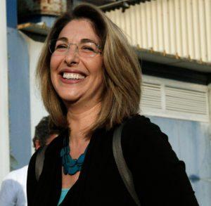 La autora canadiense Naomi Klein.   FOTO: Alexandros Michailidis