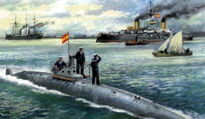 Isaac Peral, la conquista del mundo submarino en cómic
