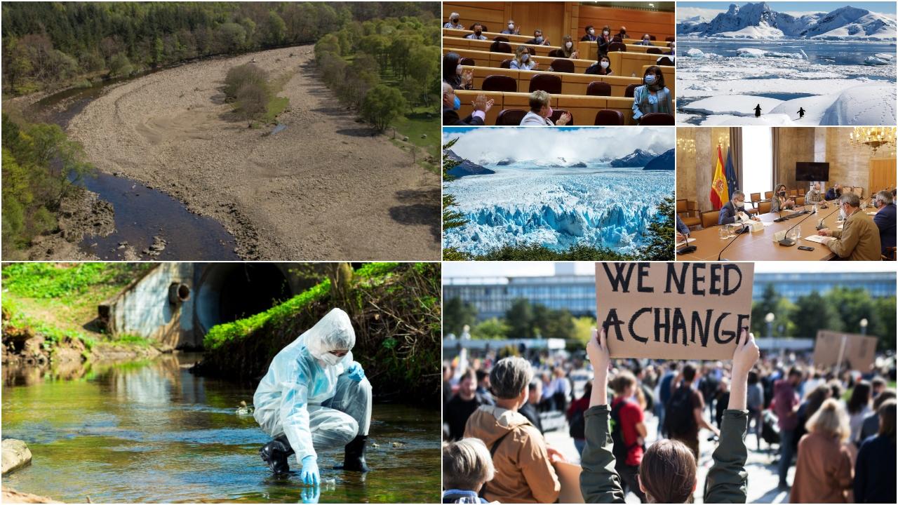 """El """"caudal ecológico"""" de la reconstrucción se queda sin agua"""