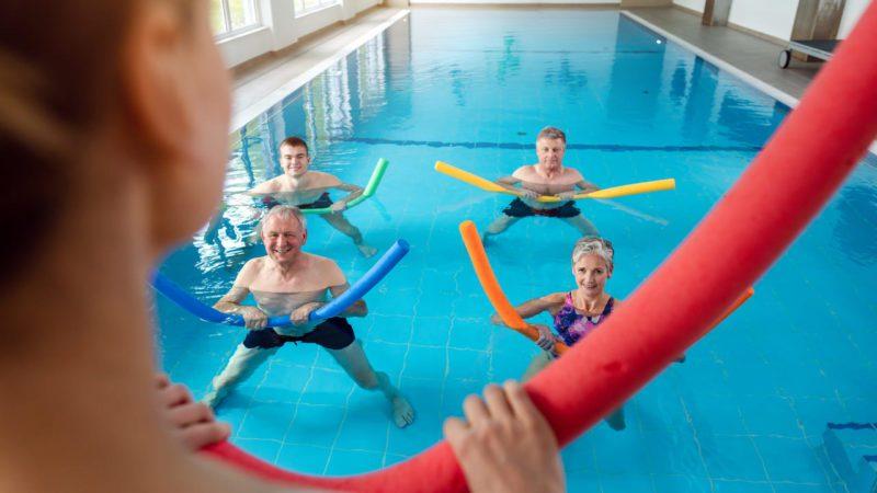 Actividad física acuática: un verdadero baño de salud
