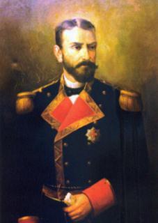 Retrato de Isaac Peral.   Museo Naval de Madrid