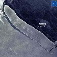 Nace un nuevo coloso helado, el A-76, el iceberg más grande del mundo