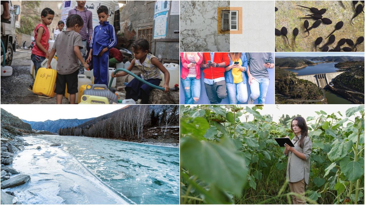 La falta de agua en zonas de conflicto amenaza a millones de niños
