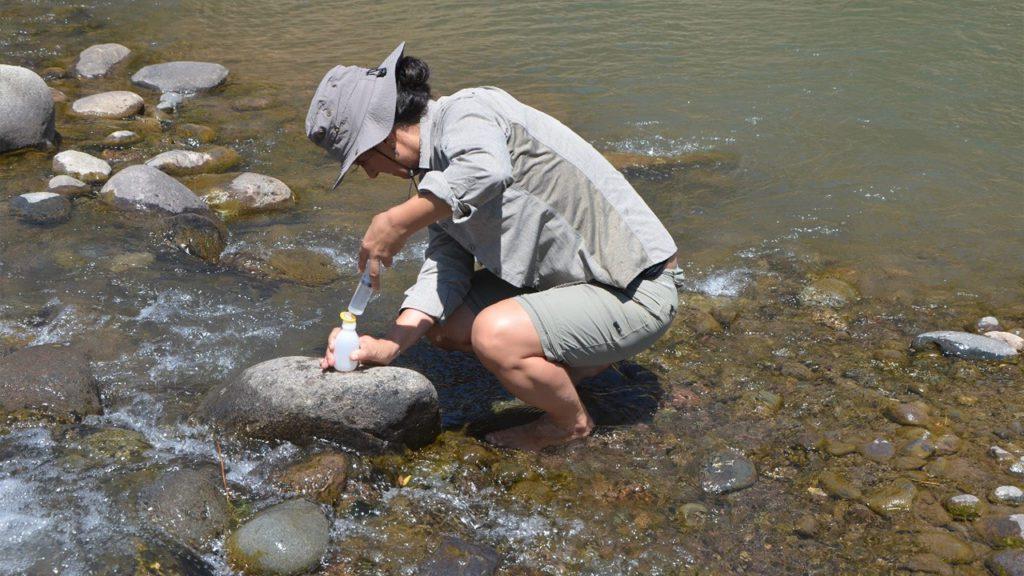 Linda Daniele, Doctora en Hidrogeología de la Universidad de Almería en España, académica, investigadora y experta en aguas subterráneas del Departamento de Geología de la Universidad de Chile