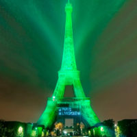 La Torre Eiffel se ilumina de verde gracias al hidrógeno
