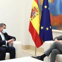 España reafirma su compromiso climático al presidente de la COP26
