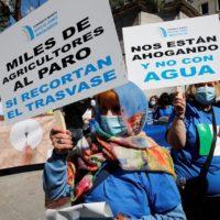 Levante se manifiesta en Madrid en defensa del trasvase Tajo-Segura