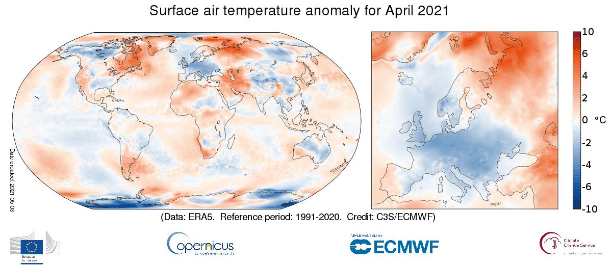 Abril 2021 temperaturas