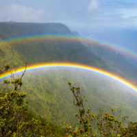 ¿Sabes por qué Hawái es la capital mundial de los arcoíris?