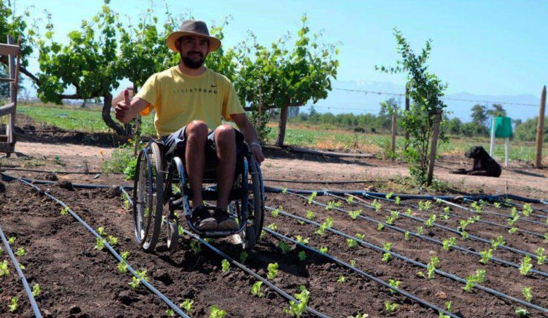 Un joven chileno, ejemplo para la agricultura de América Latina