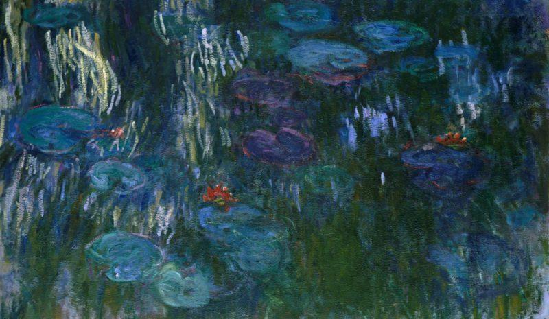 Monet y las ninfeas como fuente secreta de la vida