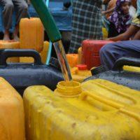 La odisea hídrica de los refugiados