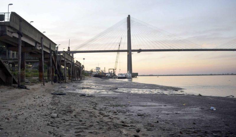 Argentina declara la emergencia hídrica por bajada histórica del río Paraná