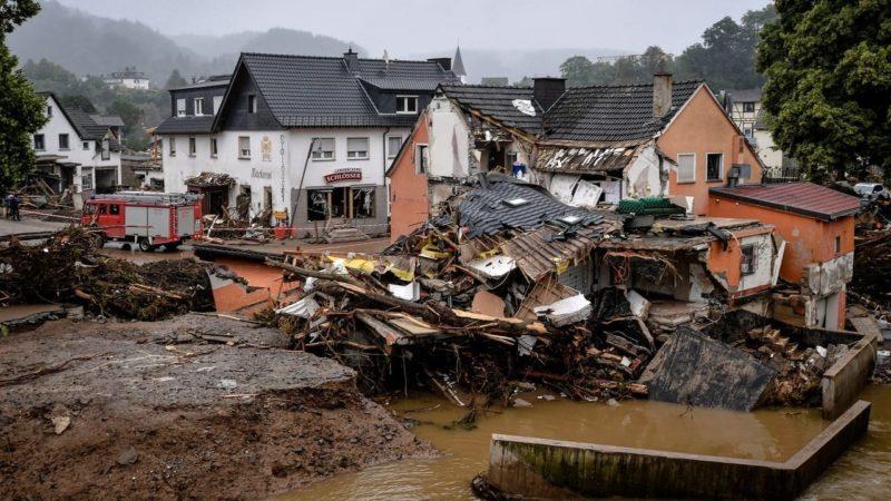 Inundaciones históricas arrasan el oeste de Alemania