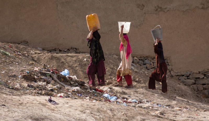 Una nueva sequía, la gota que colma el vaso en Afganistán