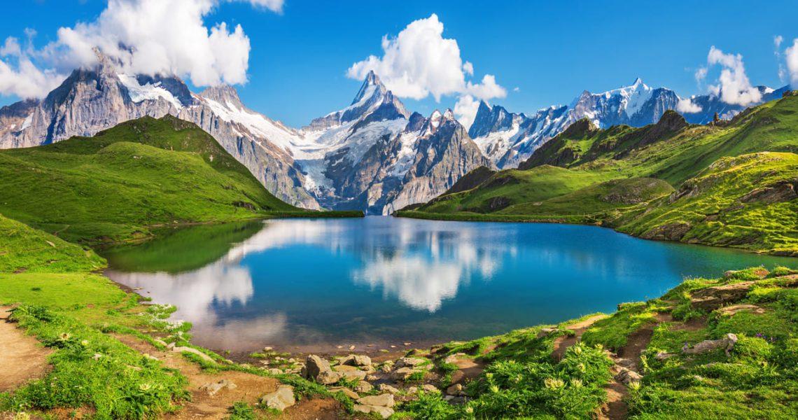 El deshielo de los Alpes ha formado 1.200 nuevos lagos