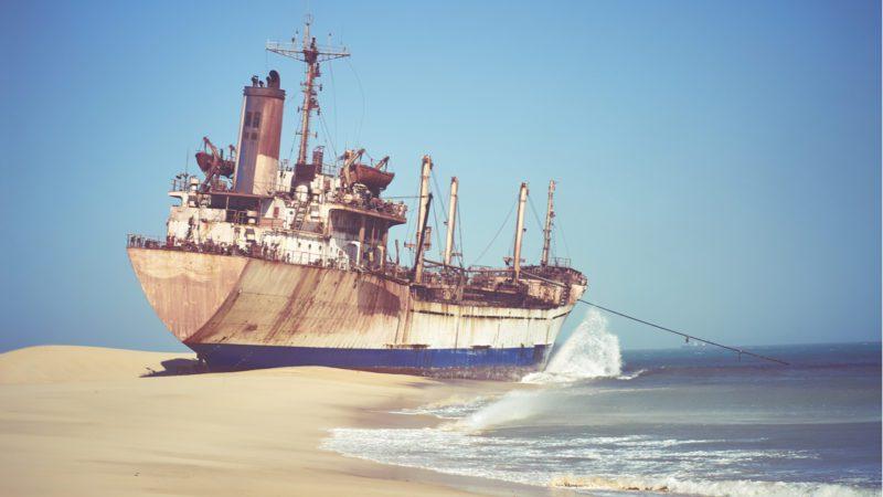 El mayor cementerio de barcos del mundo se desmantela