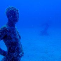 Arte a 14 metros bajo el nivel del mar en Lanzarote