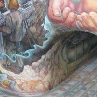 El mural anegado de Diego Rivera en México