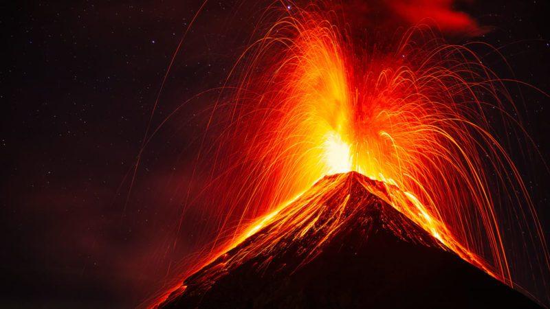 Los cambios en el nivel del mar alimentan las erupciones volcánicas