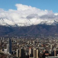 La cordillera de los Andes en Chile está perdiendo su manto nival