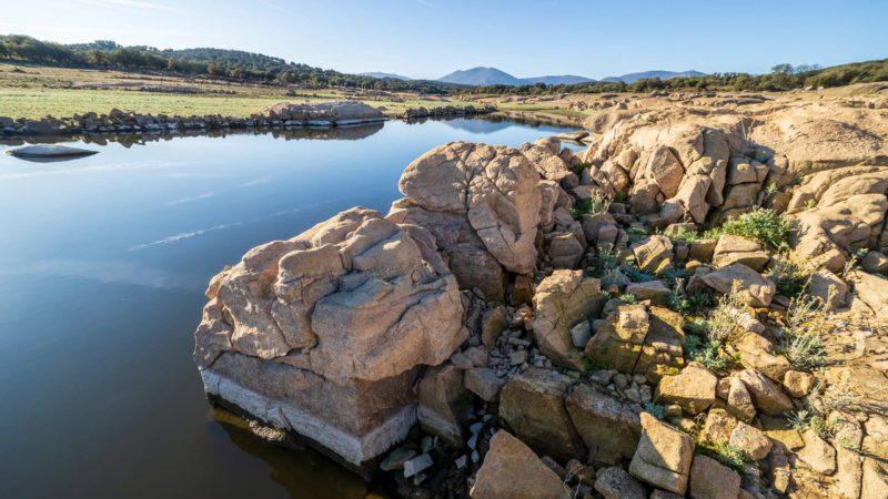 La reserva hídrica sigue descendiendo tras la ola de calor hasta el 45,5%