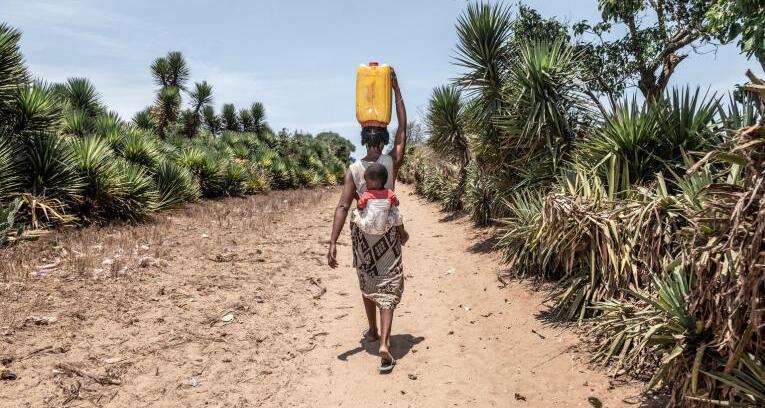 Madagascar se muere de hambre por falta de agua