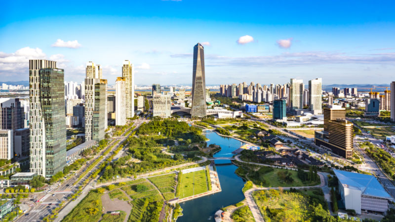 Songdo, la ciudad inteligente coreana que surgió de la nada