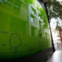 Liquid3, un 'árbol de agua' que purifica el aire de Belgrado