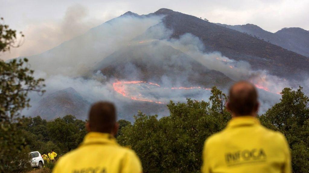 Incendio Málaga sexta generación