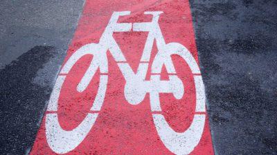 Jamás has visto un carril bici así